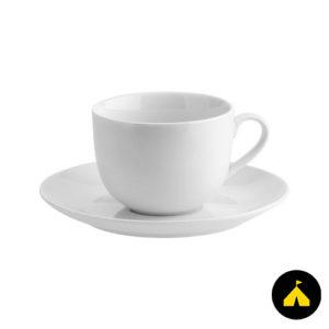 Kávés csésze + alj