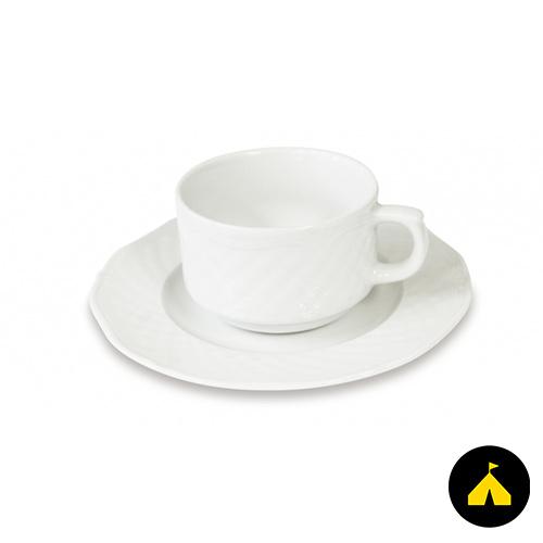 Teás csésze + alj